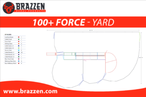 Brazzen Yard Plan 100-200 Cattle Force