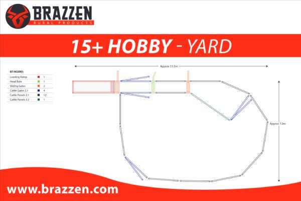 Brazzen Yard Plan 15 plus Cattle Hobby