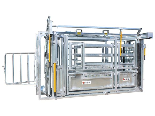 CCHFB Heavy Duty Squeeze Cattle Crush