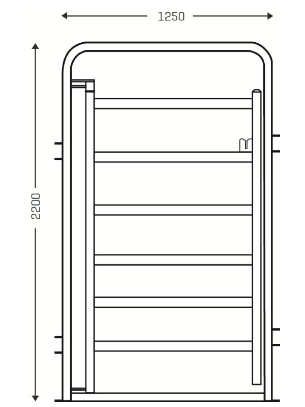 CGA Standard Cattle Access Gate 2
