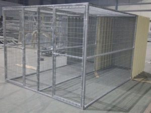 DCD Double Dog Cage