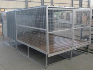 DCR Raised Dog Cage
